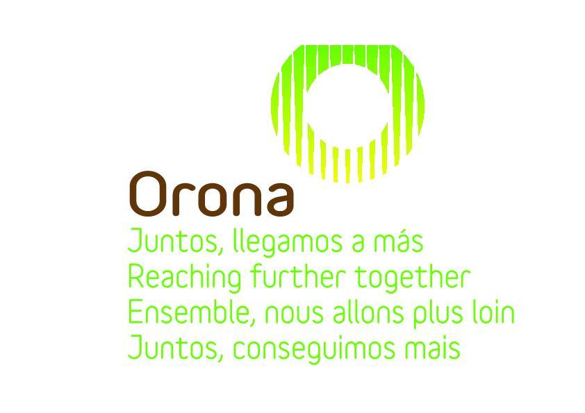 ORONA logo više jezika