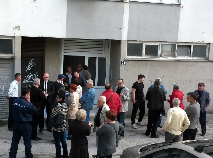 Naknadna ugradnja lifta u Šimićevoj ulici